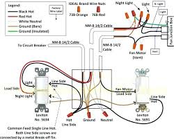 wiring diagram for bathroom heater fan light wiring diagram tutorial bathroom light exhaust fan and heater wiring diagram