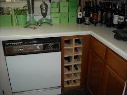 Under Cabinet Wine Racks Kitchen Base Cabinet With Wine Rack