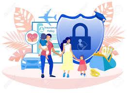 Voluntary Medical Insurance Programs Cartoon Medical Life And