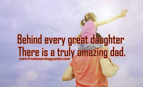 New Dad Quotes Delectable 48 Sweetest Father Daughter Quotes With Images Freshmorningquotes