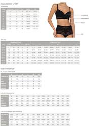Size Chart Nancy Ganz Size Guide Womens Shapewear And