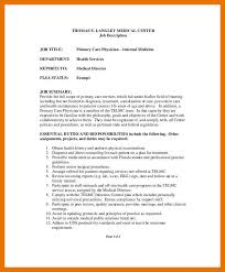 Samples Of Job Descriptions 9 10 Template For Job Descriptions Juliasrestaurantnj Com