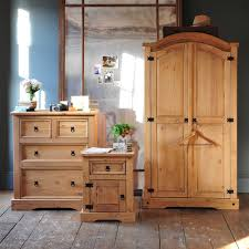 Mexican Pine Bedroom Furniture Corona Mexican Pine Trio Bedroom Set Including Free Delivery