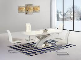 ga alexis xo extending white 160 220 cm dining set 6 grey white black