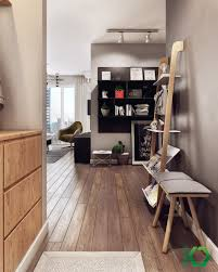 Home Designs: Stylish Leaning Shelf - Nordic Design