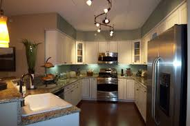 Ceiling kitchen track lighting systems ideas