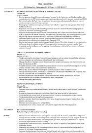 Planning Business Analyst Resume Samples Velvet Jobs