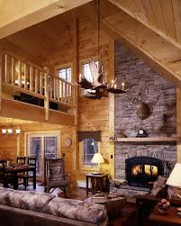 Outstanding Small Log Cabin Interior Design Ideas Pics Decoration  Inspiration