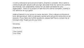 Example Of Reference Letter For A Friend Examples For Immigration