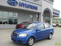 2008 Bright Blue Metallic Chevrolet Aveo LS Sedan #8713655 ...