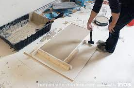 how to make a concrete table top