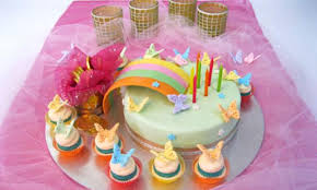Over The Rainbow Birthday Cake Kidspot