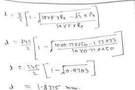 Machine Design Calculation And Analysis Wall Thickness
