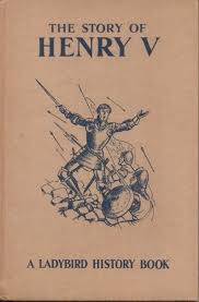 henry v vine ladybird book adventures from history series 561 first edition dust cover 1962