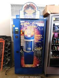 Hollywood Popcorn Vending Machine Custom West Auctions Auction Arcade Games And Hotel Furniture ITEM