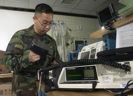 Medical Equipment Technician Us Air Force Usaf Staff Sergeant Ssgt Charles Seller Biomedical