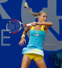 Arantxa Rus Tennis and Cheer dance