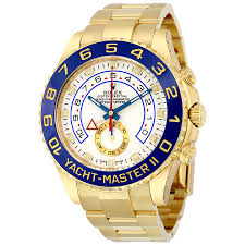 rolex yacht master ii white dial 18k yellow gold rolex oyster rolex yacht master ii white dial 18k yellow gold rolex oyster automatic men s watch 116688wao