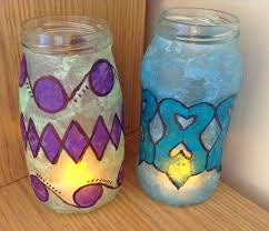 how to make stained glass lanterns