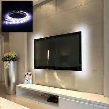 vansky bias lighting for hdtv usb led strip normal bright white backlight kit for flat screen tv desktop pc lighting ceiling fans canada