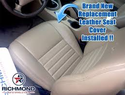 1999 2004 ford mustang gt v8 perforated leather seat driver bottom tan