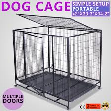... 42-034-DOG-CRATE-CAGE-W-TRAY-CRATE-