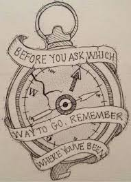 Compass Quotes Beauteous I Want This As A Tattoo To Cover My Self Harm Scars
