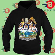 Los angeles lakers 2020 nba champions '47 ultra rival tee womens. Los Angeles Dodgers And Los Angeles Lakers Champions 2020 Shirt Hoodie Sweatshirt And Long Sleeve