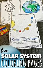 More than 600 free online coloring pages for kids: Free Solar System Coloring Pages
