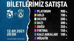 Trabzonspor'un Galatasaray maçı için biletler satışta • Haberton
