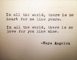 Love Quotes Maya Angelou Fascinating Maya Angelou Love Quote Hand Typed On Typewriter Quotes