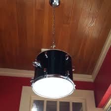 drum light fixture. Fixtures Light For Burlap Drum Fixture And Clean Hanging M