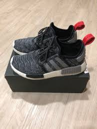 Nmd Adidas Size Chart Adidas Nmd R1 Bb2884 Luxury Shoes On Carousell