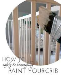 painted baby furniture. How To Safely Paint A Crib Quiet Home Paints | Organic, Non-Toxic, Painted Baby Furniture