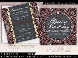 Black And Purple Invitations Customizable Event Invitations Black Purple Lace Monogram