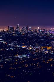 Lights In The Sky Los Angeles Today Downtown Los Angeles By North Sky Photography Wallpapers