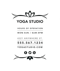 Business Hours Sign Template Office Large In Sheet Holiday Free
