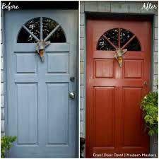 front door paintFront Door Paint Transformations with Modern Masters  Modern