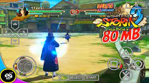 Naruto Ultimate Ninja Storm 3 PSP Games 80 MB For Android iOS PC High  Graphics