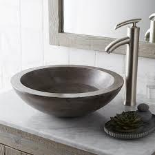 bathroom sink awesome morro nativestone bath sink ash v bowl bathroom vessel native trails in vanity with rectangle pedestal white corner sinks