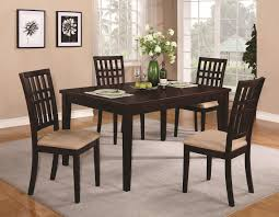 dark wood dining room table and chairs brandt dark cherry wood dining table steal