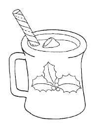Small Picture Hot Cocoa Of Christmas Coloring Page Starbucks kids craft day