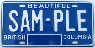 british columbia sample license plates 1979 1986