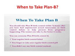 Can You Take Plan B And Birth Control Together What Is Plan B Plan B One Step Is A Type Of Emergency