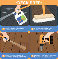 preparing your deck for paint or stain