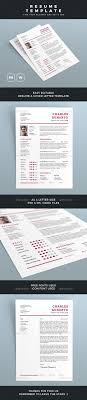 Resume Templates Resume Template Psd Docx Files Easy Editable
