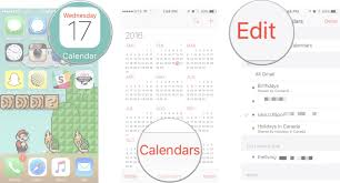 Calendars To Edit How To Add And Delete Calendars On Your Iphone And Ipad Imore