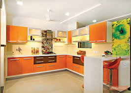 orange laminate kitchen cabinet cabinets portable pantry what the most popular color melamine scheme cupboard lights
