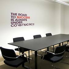 office wall art. Paperflow Office Deco Wall Transfers, The Road To Success 26\u2033 X 16.5\u2033 Art