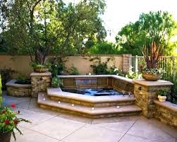 in ground jacuzzi. In Ground Jacuzzi Impressive On Small Backyard Hot Tub Ideas Or Pool Above . O